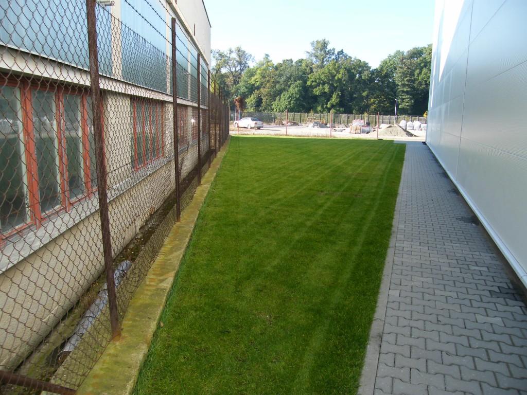 komplexní vegetační úpravy