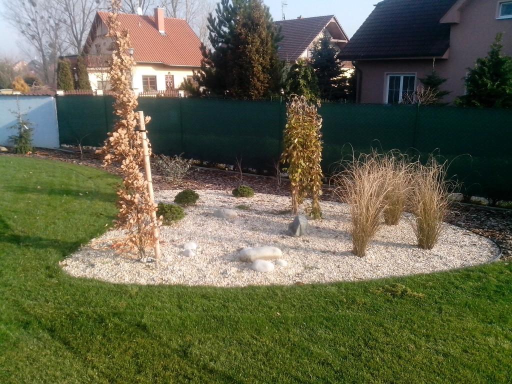 realizace zahrady v Kroměříži