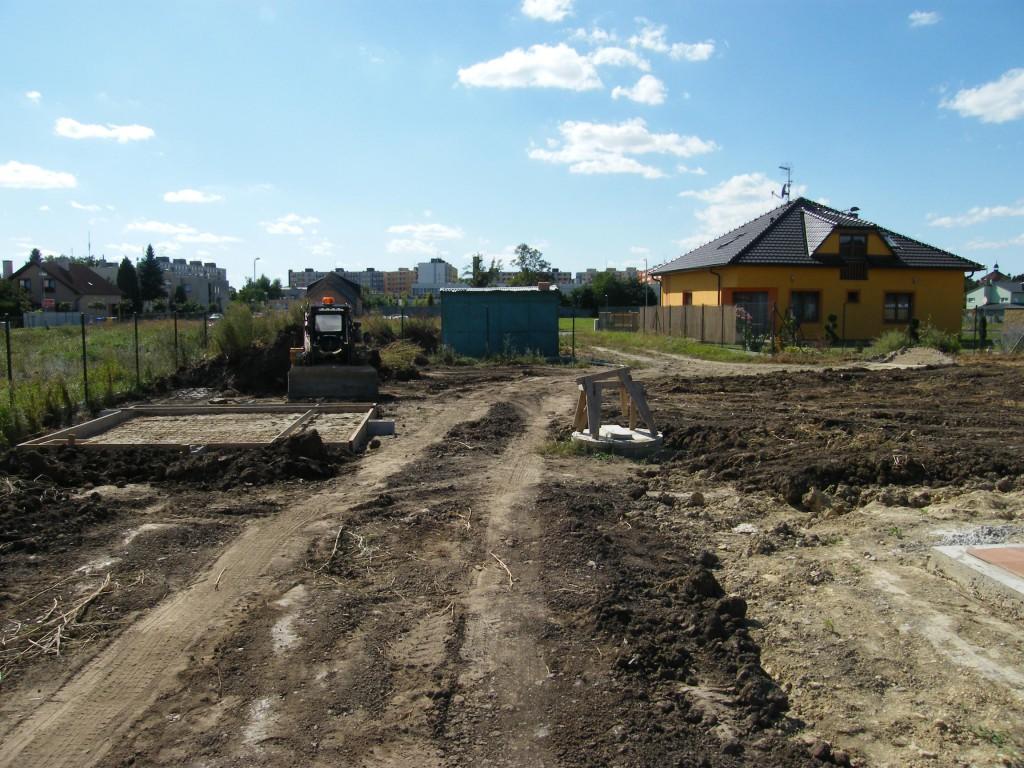 zahrada se závlahovým systémem v Kroměříži