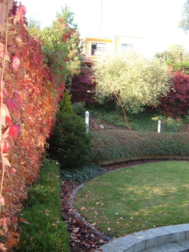 obnova staré zahrady v Luhačovicích