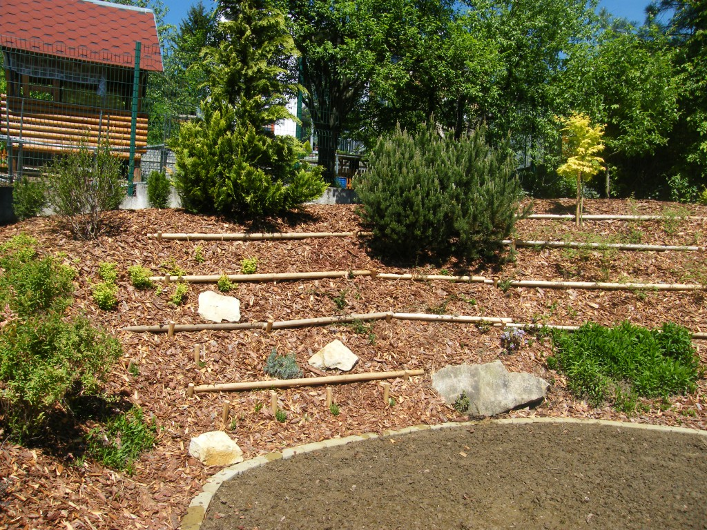 zahrada v Luhačovicích