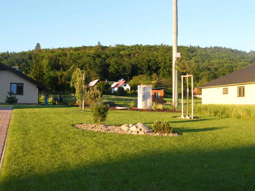 zahrada v Roštíně
