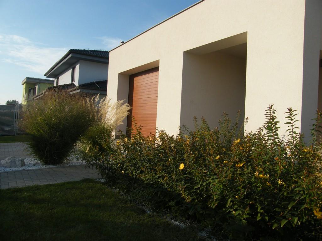 okrasná zahrada ve Vážanech